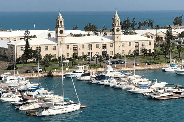 bermuda clocktower mall