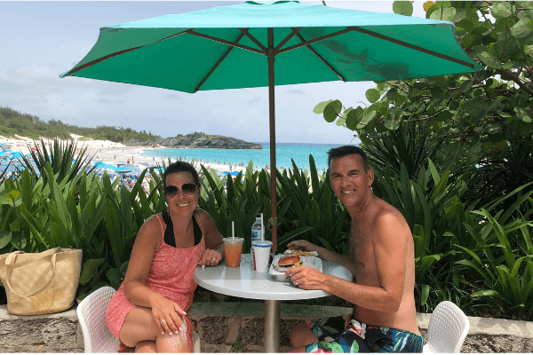 horseshoe bay rum bum beach bar