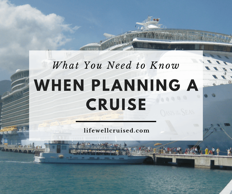 12 Things First-Time Cruisers Should Know for Planning a Cruise