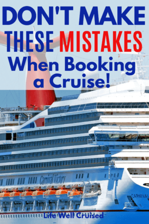 don't make these maistakes when booking a cruise