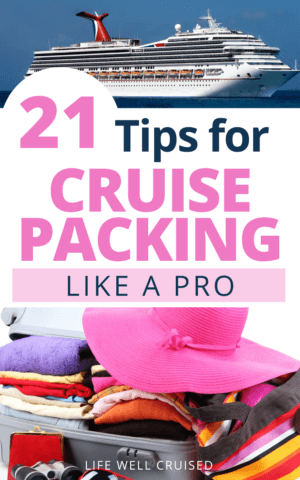 21 Tips for Cruise Packing Like a Pro