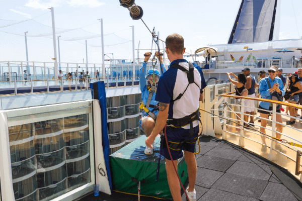 Oasis of the Seas Zipline