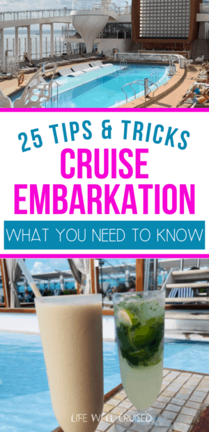 Cruise Embarkation What You Need to Know