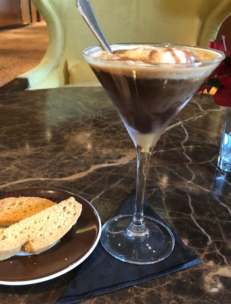 Cafe Al Bacio Clebrity Cruises