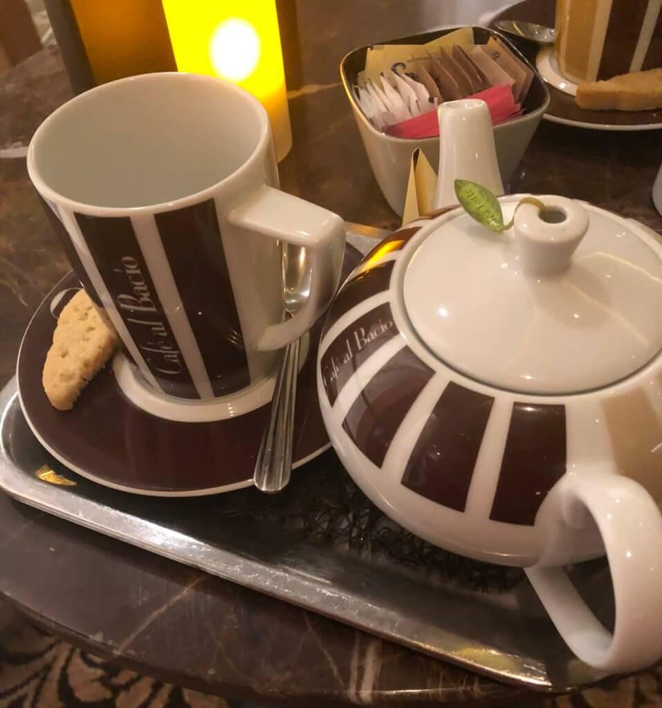 Cafe Al Bacio cafe Celebrity Cruises