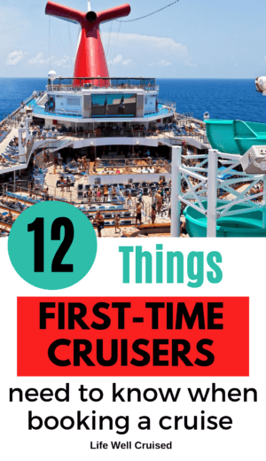 12 Things First-Time Cruisers