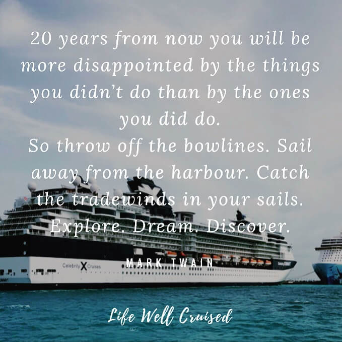 cruise and travel quotes to inspire