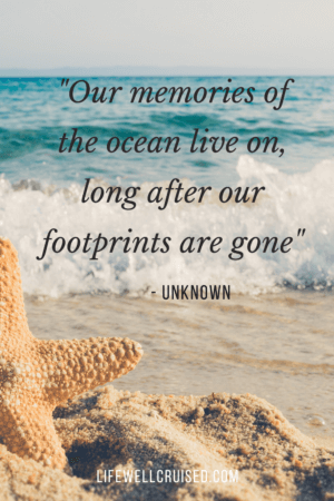 Our memories of the ocean live on, long after our footprints are gone