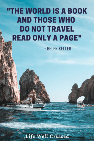 The world is a book and those who do not travel read only a page