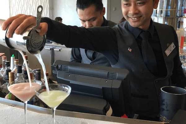 celebrity cruises crush martini bar