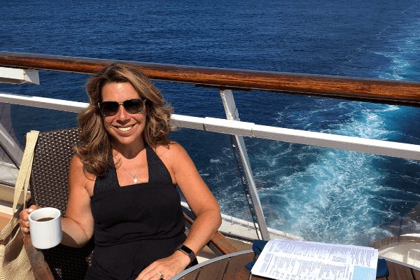ship's wake - Ilana Life Well Cruised