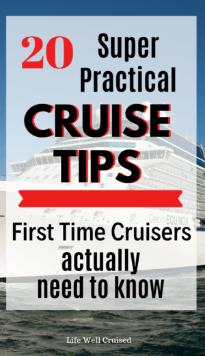 20 practical tips for first time cruisers