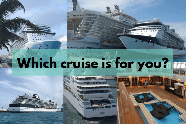 cruise vacations choices