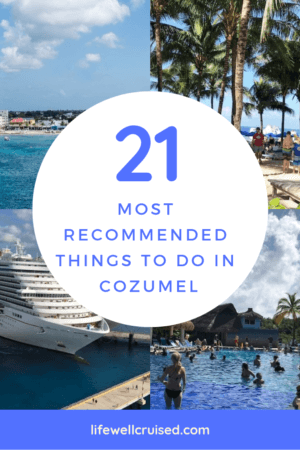 21 most recommended things to do in cozumel