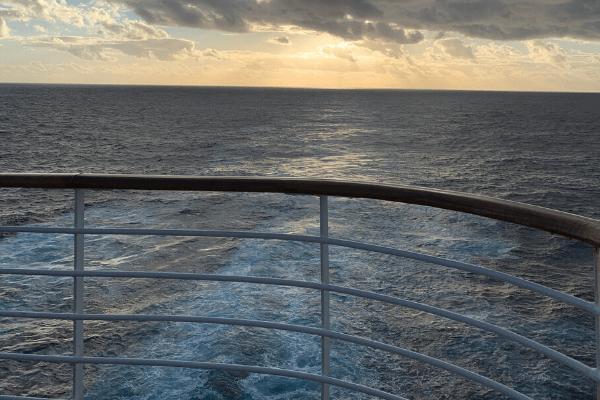 cruise sea view prevent seasickness