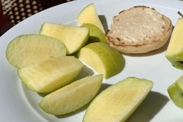 Green Apples to treat seasickness symptoms
