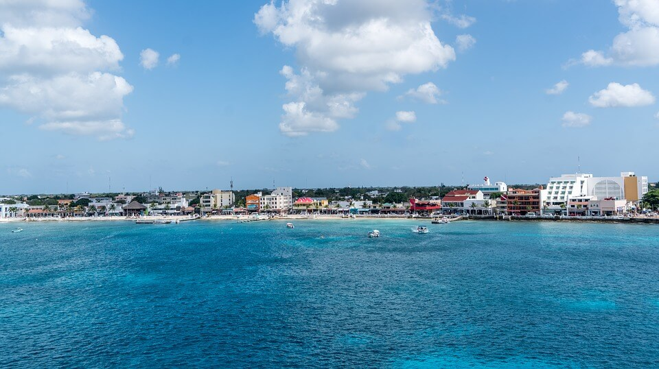 beach in cozumel