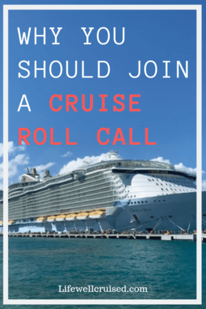 reasons to join a cruise critic or facebook roll call