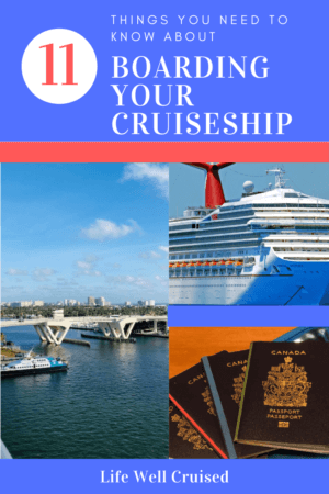 11 things to know about cruise boarding process
