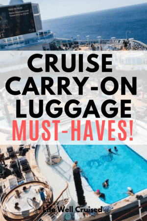 cruise carry on must haves