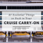 21 essential things to pack in your cruise carry on