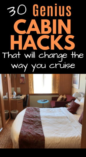 30 Genius cruise cabin hacks