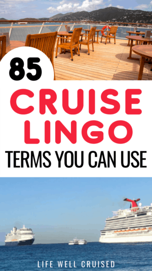 85 cruise lingo terms you can use
