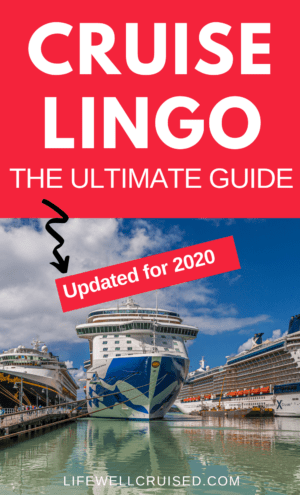 Cruise lingo the ultimate guide updated