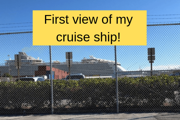 cruise ship at terminal