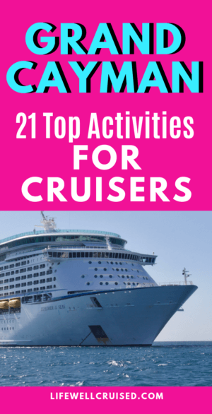 grand cayman top activities for cruisers