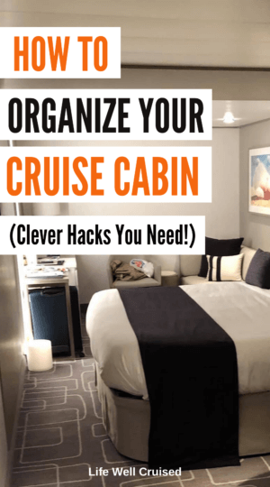 How to Organize Your Cruise Cabin - Clever Hacks