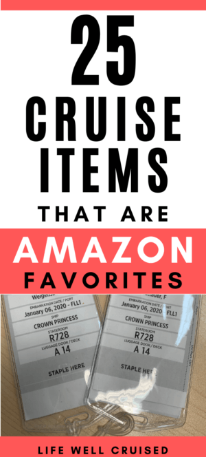 25 Cruise Items That Are Amazon Favorites
