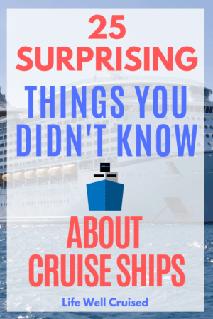 surprising things you didn't know about cruises