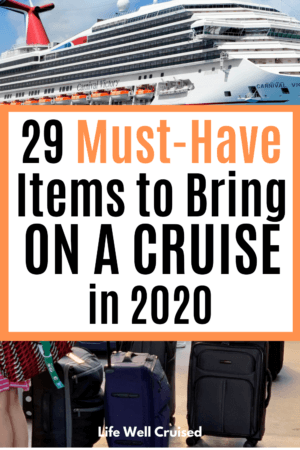 29 Must-Have Items to Bring on a Cruise in 2020