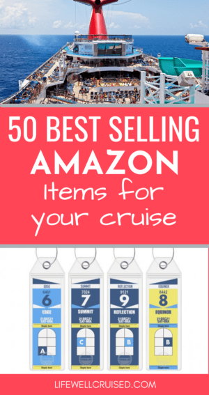 50 Best Selling Amazon Items for your Cruise