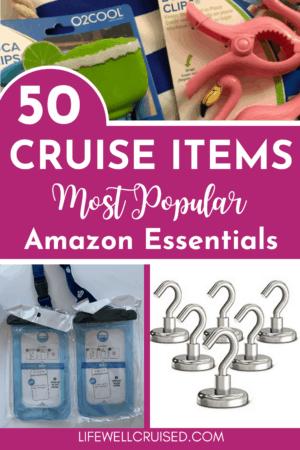 50 Cruise Items (most popular) Amazon Essentials