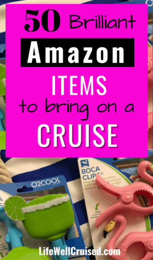 50 brilliant Amazon items to Bring on a Cruise