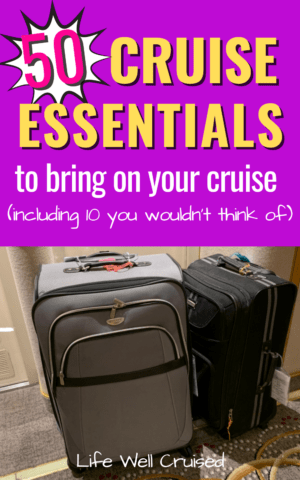 50 cruise essentials you would not think of