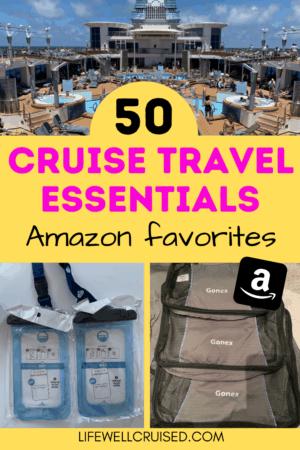 50 Cruise Travel Essentials - Amazon items