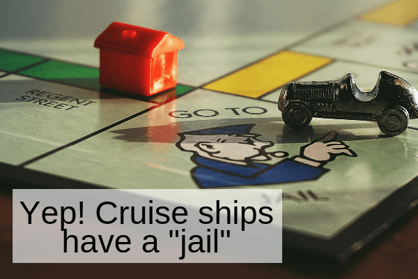 cruise ship jail
