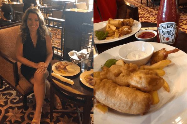british pub lunch Ilana life well cruised