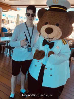 Princess Cruises Stanley the Bear Cruise Fact