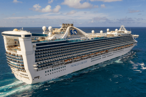Cruise ship fact - princess cruise sets world record for group vow renewal