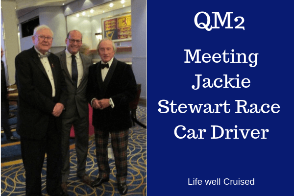 queen mary 2 famous Jackie Stewart