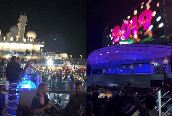 new year`s party regal princess
