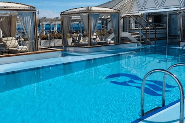 regal princess retreat pool
