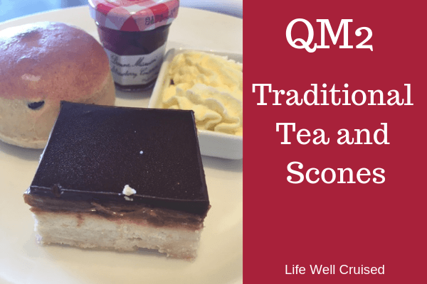 traditional tea and scones queen mary 2