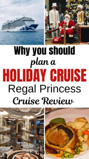 regal princess hoilday cruise review