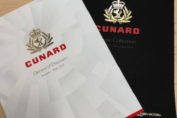 cunard brochures