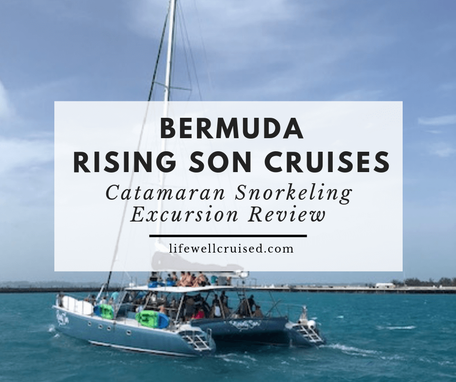 Bermuda Rising Son Cruises Catamaran Snorkeling Review